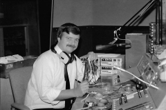 Phil Fothergill at the controls